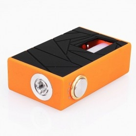 Arctic Dolphin Crea Box Mod Bottom Feeder Orange