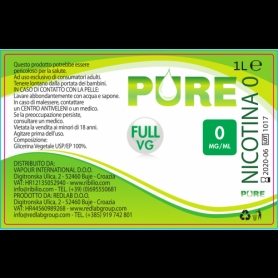 Pure Base Full VG Pure Ribilio 1 L