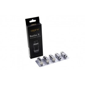 Aspire Nautilus X 1.8ohm Replacement Resistors 5 Pieces