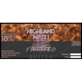 Twisted John Smith's Highland Malt 1 Tobacco Aroma 10ml