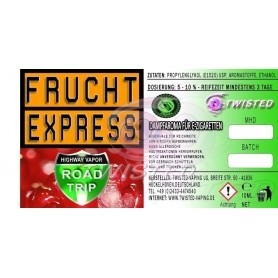 Twisted Road Trip Frucht Express Aroma 10ml