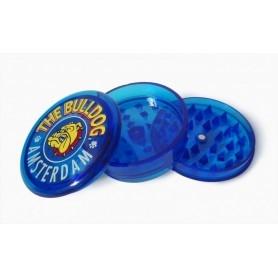 Grinder The Bulldog Plastica Blu 3 parti