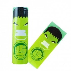 Wrap Battery 18650 Hulk 10pcs