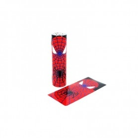 Wrap Batteria 18650 Spiderman Pz 10