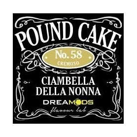 Drea Mods Pound Cake No.58 Flavor 10ml