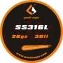 Geekvape Tape Wire SS316L 26ga 10ml