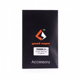 Geekvape Tsunami 24 Accessori Screw+oring+allen Key