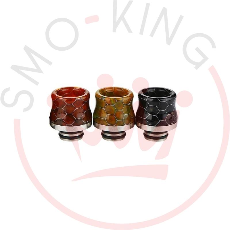 Snakeskin Drip Tip Resin 510 Brown