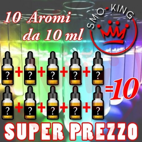 OFFERTA 10 Aromi Concentrati 10 ml