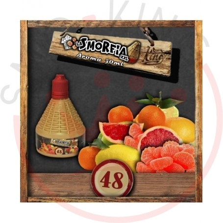 La Smorfia XXL N.48 Aroma 30 ml