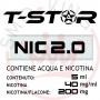 T-Star Nicotina in Acqua 200mg 5 ml