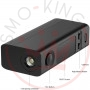 JOYETECH Evic Vtwo Mini 75watt Black Only Box