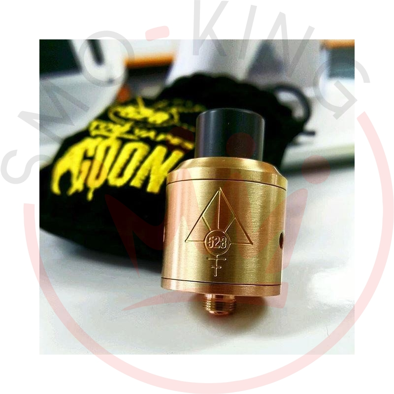 528 Custom Vapes Goon Rda Dripping 22mm Brass