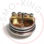 528 Custom Vapes Goon Rda Dripping 22mm Silver