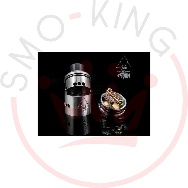528 Custom Vapes Goon Rda Dripping 22mm Silver