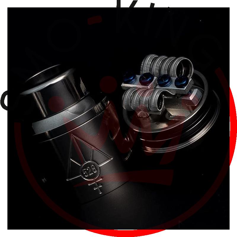 528 Custom Vapes Goon Rda Dripping 22mm Black