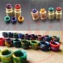 Drip Tip Wire Bore Multicolor