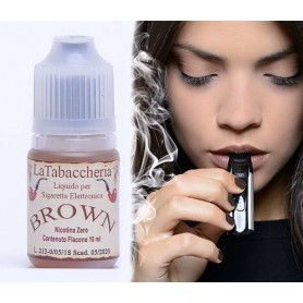 La Tabaccheria Brown 10 ml Liquido Pronto Nicotina