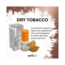 Vaporart Dry Tobacco 10 ml Nicotine Ready Eliquid