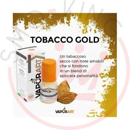 Vaporart Tobacco Gold 10 ml Liquido Pronto Nicotina