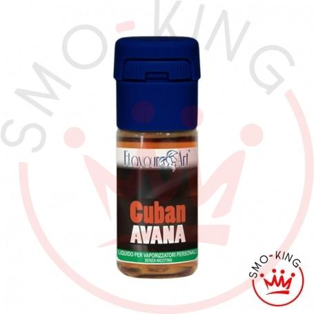 Flavourart Cuban Avana 10 ml Liquido Pronto Nicotina