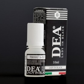 Dea Flavor Lady in Black Liquirizia 10 ml Liquido Pronto Nicotina