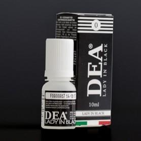 Dea Flavor Lady in Black Liquirizia 10 ml Nicotine Eliquid