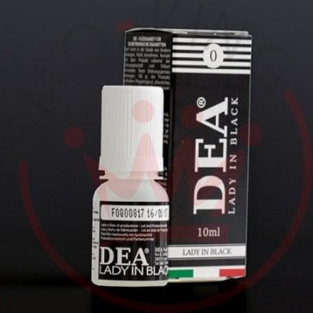 Dea Flavor Lady in Black Liquirizia 10 ml Liquido Pronto Nicotina0ml 0 mg