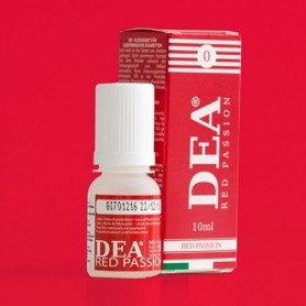 Dea Flavor Red Passion Little Red Strawberry 10 ml Nicotine Eliquid