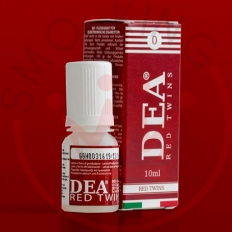 Dea Flavor Red Twins Ciliegia 10 ml Liquido Pronto Nicotina