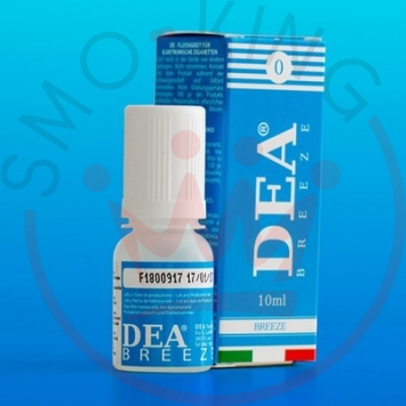 Dea Flavor Breeze Mint 0 mg Liquid Ready 10ml