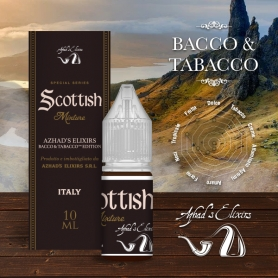 Azhad Scottish Mixture 10 ml Liquido Pronto Nicotina