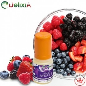 Delixia Mixed Berries 10 ml Nicotine Ready Eliquid