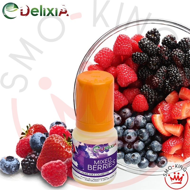Delixia Mixed Berries 10 ml Liquido Pronto Nicotina