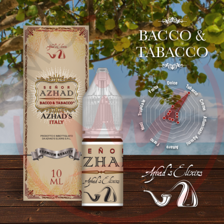 Azhad Senor Azhad 10 ml Nicotine Eliquid