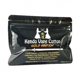 Kendo Vape Cottone Gold Edition