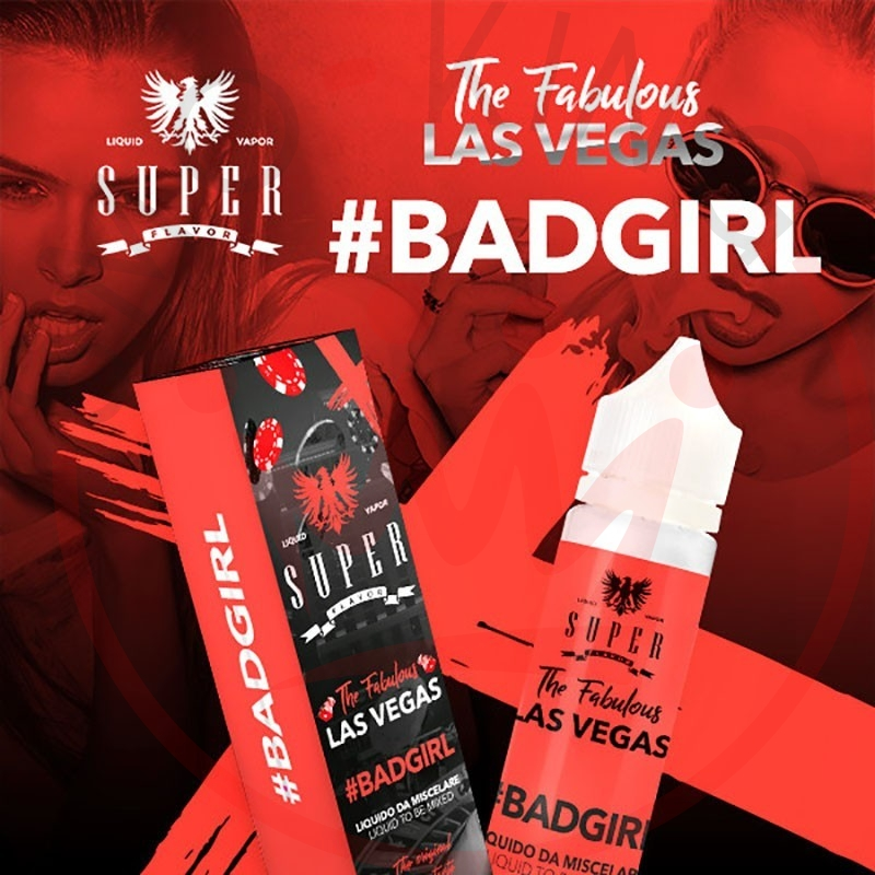Super Flavor Badgirl 50 ml Mix
