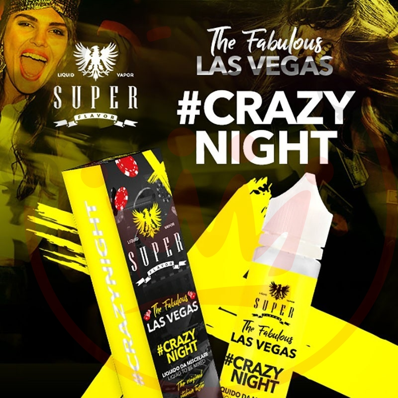 Super Flavor Crazynight 50 ml Mix