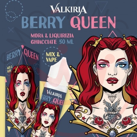 Liquido Valkiria Berry Queen 50 ml