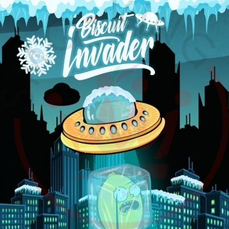 Shake and Vape Biscuit Invader ICE Aroma 20 ml