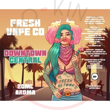 Fresh Vape Co Downtown Central Aroma 20 ml