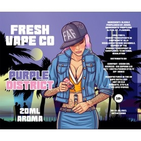 Fresh Vape Co Purple District Aroma 20 ml