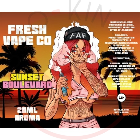 Fresh Vape Co Sunset Boulevard Aroma 20 ml