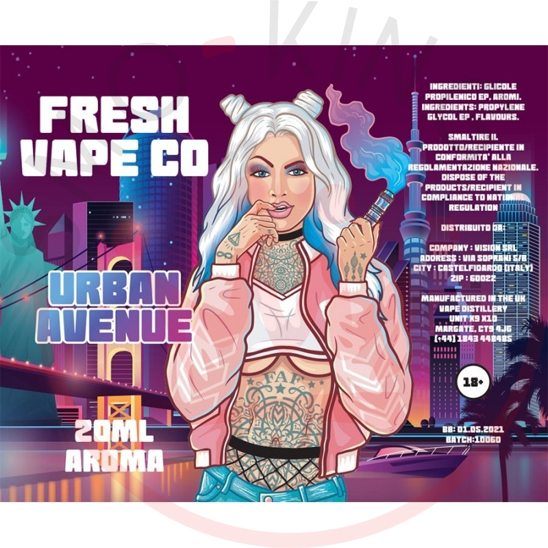 Fresh Vape Co Urban Avenue Aroma 20 ml