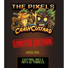 The Pixels Crash Custard Limited Edition Aroma 20ml