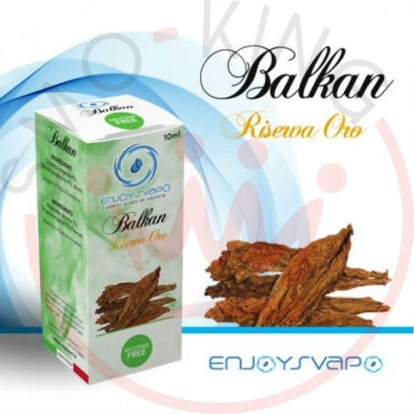 Enjoysvapo Tobacco Balkan Liquido Pronto 10 ml