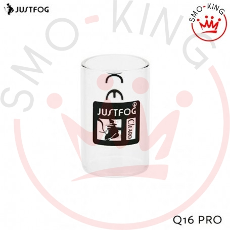 Disponibile su smo-king shop Glass Tube Q16 Pro Kit vetro ricambio justfog q16 pro