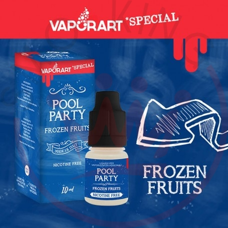 Vaporart Pool Party 10 ml Liquido Pronto Nicotina