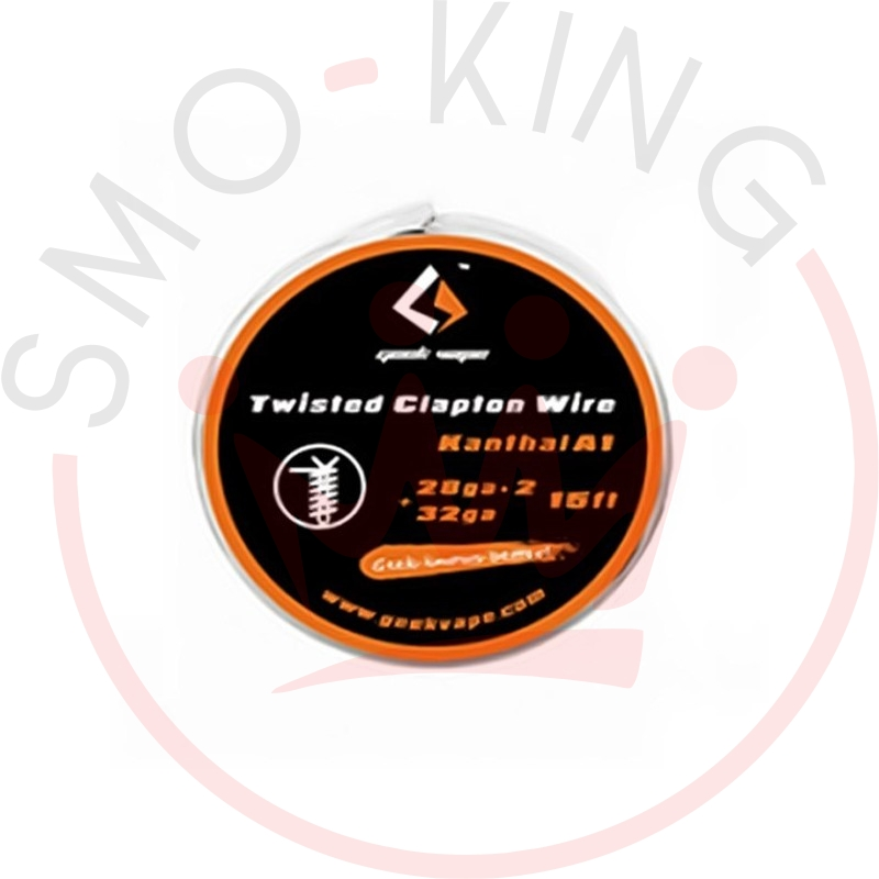 Geekvape Twisted Clapton Wire Kanthal A1 26ga * 2+32 Ga 3ml