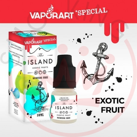 Vaporart Island 10 ml Nicotine Ready Eliquid